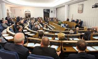 Ustawa likwidująca hurtownie komornicze w Senacie RP